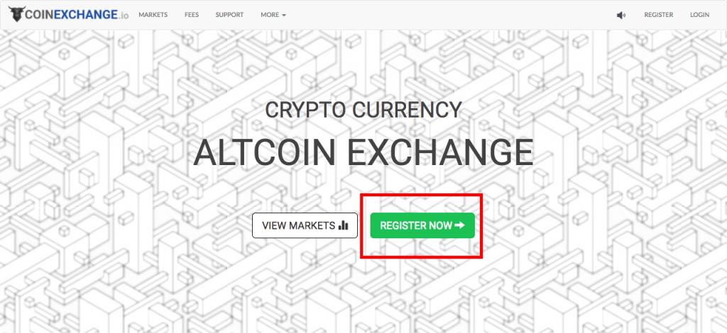 coinexchange register