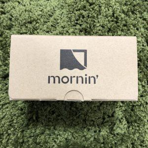 モーニンの外箱